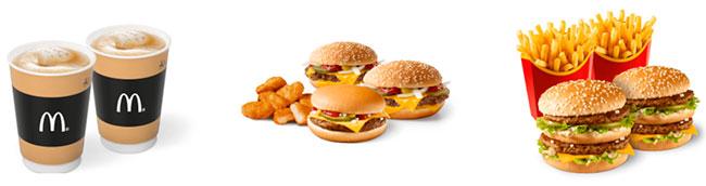 Сервис доставки Макдональдс